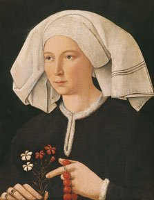 Portrait of a Woman,  Anonymous German Artist active in Swabia  ca. 1480