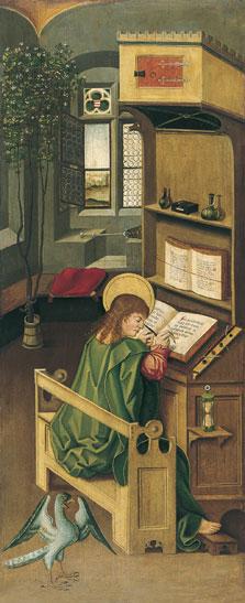 El evangelista san Juan, Gabriel Mälesskircher