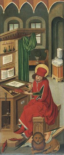 Saint Mark the Evangelist, Gabriel Mälesskircher