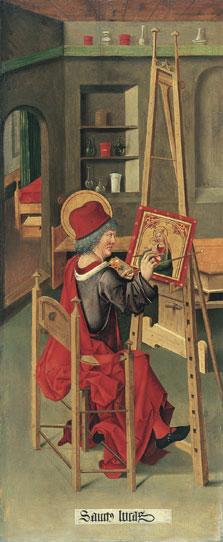 Saint Luke painting the Virgin, Gabriel Mälesskircher