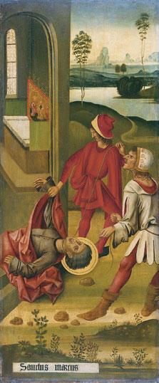 The Martyrdom of Saint Mark, Gabriel Mälesskircher