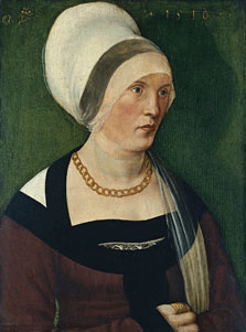 Portrait of a Woman, Wolf Traut