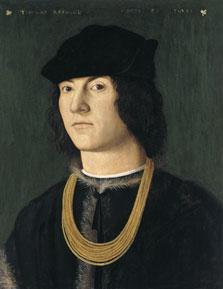 Retrato de Tommaso Raimondi, Amico Aspertini