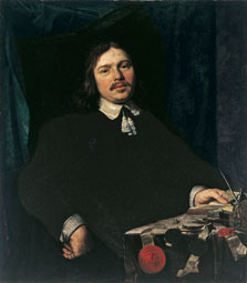 Portrait of a Man with Documents, Bartholomeus van der Helst