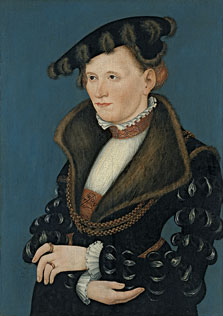 Portrait of a Woman, Lucas  Cranach , the Younger