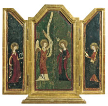 The Annunciation Triptych,  Anonymous German Artist active in Cologne
