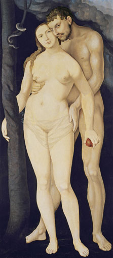 Adam and Eve, Hans Baldung Grien