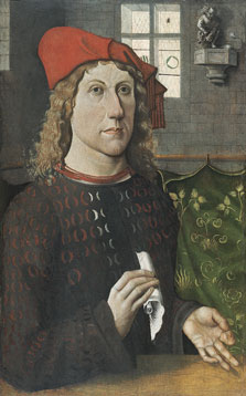 Portrait of a Young Man,  Master of the Lüneburg Last Judgement