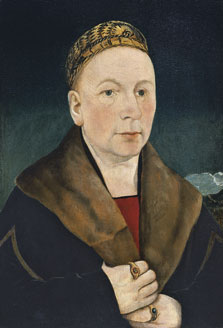 Retrato de un hombre (¿Sebastian Gessler?) , Martin Schaffner