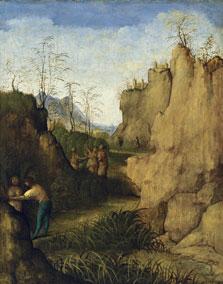 Ladon and Syrinx, Giovanni Agostino da Lodi (Pseudo-Boccaccino)