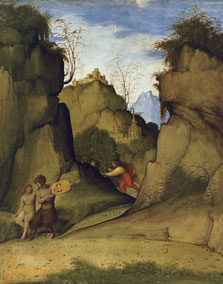 Pan and Syrinx, Giovanni Agostino da Lodi (Pseudo-Boccaccino)