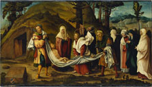 Christ´s Body carried to the Tomb, Hans Burgkmair