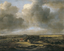 Bleaching Fields at Bloemendaal near Haarlem, Attributed to Jacob Isaacksz. van Ruisdael