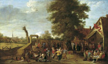 The Village Fête, David Teniers II