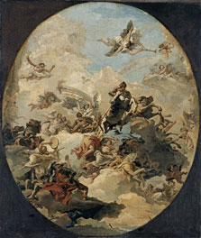 The Apotheosis of Hercules, Giandomenico Tiepolo