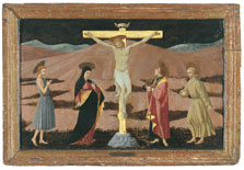 The Crucifixion with the Virgin, Saint John the Baptist, Saint John the Evangelist and Saint Francis, Paolo Uccello