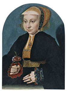 Portrait of a Woman, Bartholomäus Bruyn the Elder