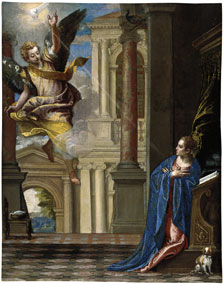 The Annunciation,  Veronese