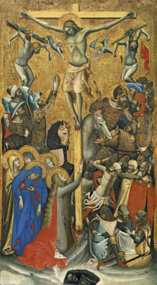 The Crucifixion, Vitale da Bologna