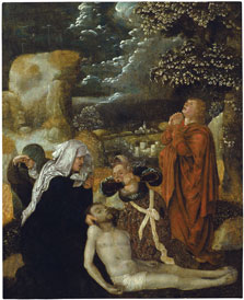 The Lamentation, Ulrich Apt (the Elder)