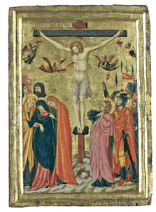 The Crucifixion,  Master of the Pomposa Chapterhouse