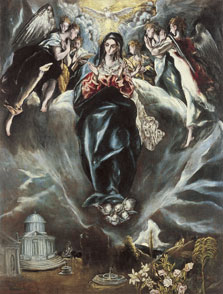 The Immaculate Conception, El Greco and Jorge Manuel Theotokópoulos