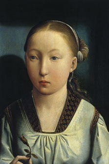 Portrait of an Infanta. Catherine of Aragon (?), Juan de Flandes