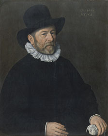 Portrait of a Man aged Fifty-eight, Cornelis Ketel