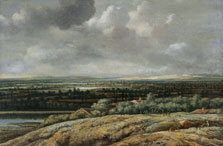 Panoramic Landscape with a City in the Background, Philips Koninck