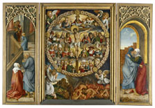 Triptych of the Rosary , Hans Suess Kulmbach