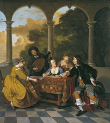 Group of Musicians, Jacob van Loo