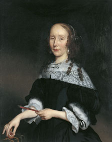 Portrait of a Lady, Nicolaes Maes