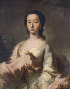 Portrait of Maria Rosa Walburga von Soyer, Georges  Desmarées