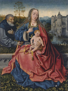 The Holy Family,  Master of Frankfurt