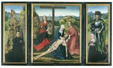 Pietà Triptych,  Master of the Saint Lucy Legend