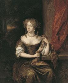 Retrato de una dama, Caspar Netscher
