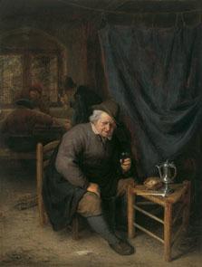 Interior de una taberna, Adriaen van Ostade