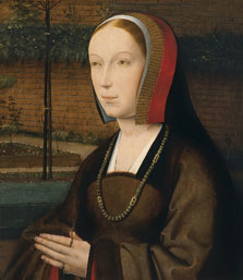 Portrait of a Female Donor, Jan Provost