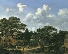 Crossroad in a Wood, Jan Jansz. van der Heyden