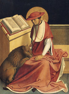 Saint Jerome as a Cardinal,  Master of Grossgmain