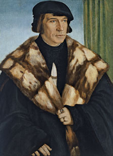 Portrait of Ruprecht Stüpf, Barthel Beham