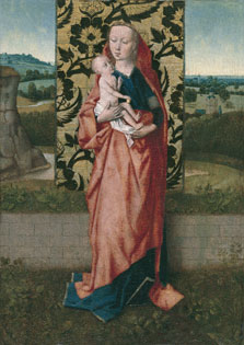 The Virgin and Child, Follower of Dirck Bouts