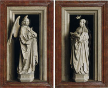The Annunciation Diptych, Jan van Eyck