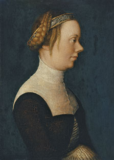 Portrait of a Woman , Hans Holbein , the Elder