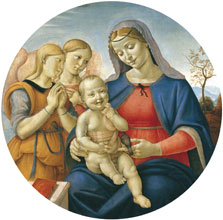 Madonna and Child with Angels, Attributed to Piero di Cosimo
