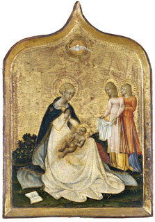 The Virgin of Humility, Giovanni di Paolo