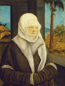 Portrait of a Woman of the Reuss Family, Wolf Huber