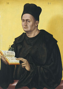Portrait of a Benedictine Abbot, Jan Polack