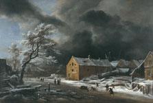 Winter Landscape, Jacob Isaacksz. van Ruisdael and Collaborators (?)