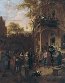 Country Wedding , Attributed To Jan Havicksz. Steen